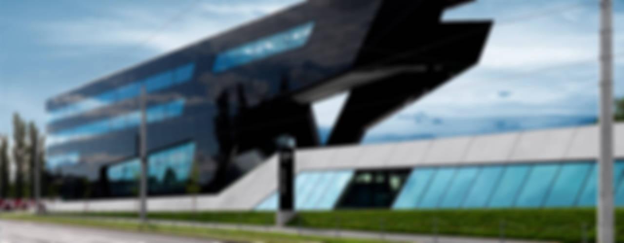MP09 Moderne Bürogebäude von GSarchitects ZT-GmbH Modern