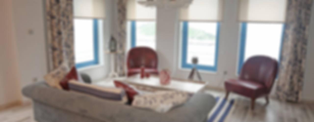 Filiz Ozcan Yaz Modern Oturma Odası Bilgece Tasarım Modern