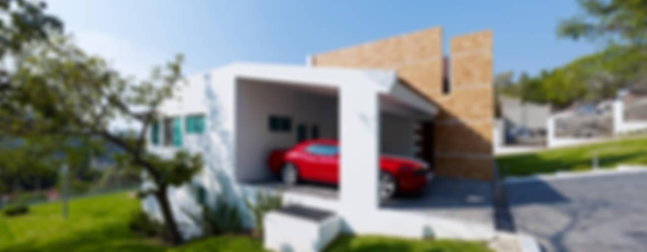 Garajes y galpones de estilo  por Excelencia en Diseño