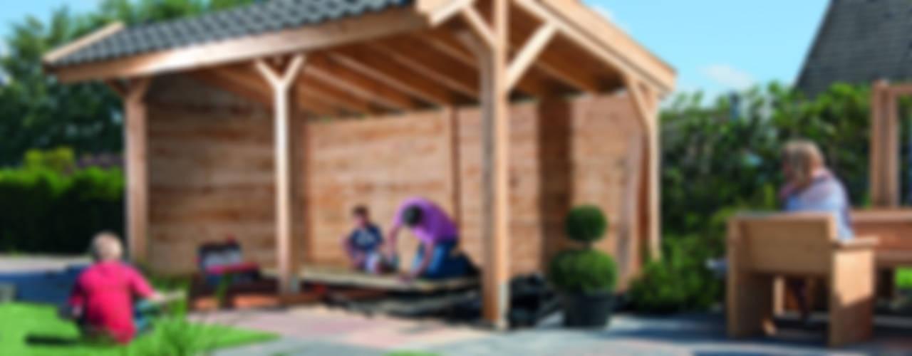 Projekty,  Budka ogrodowa zaprojektowane przez NuBuiten.nl