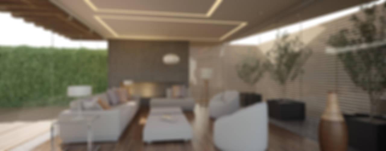 غرفة المعيشة تنفيذ 21arquitectos