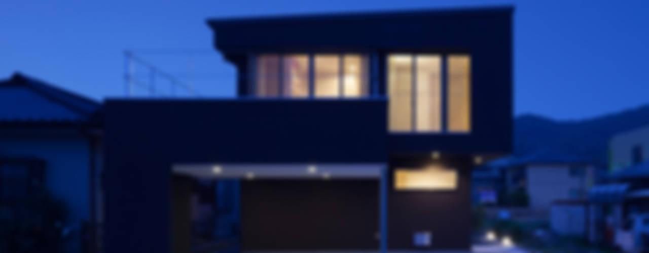 LINK HOUSE ミニマルな 家 の 松岡健治一級建築士事務所 ミニマル