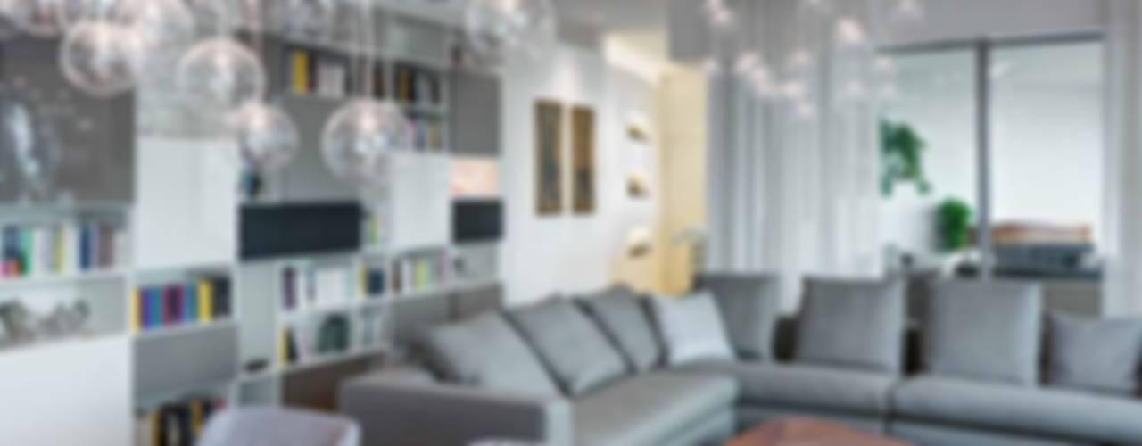 Appartamento privato nel complesso CityLife Soggiorno moderno di Studio Marco Piva Moderno