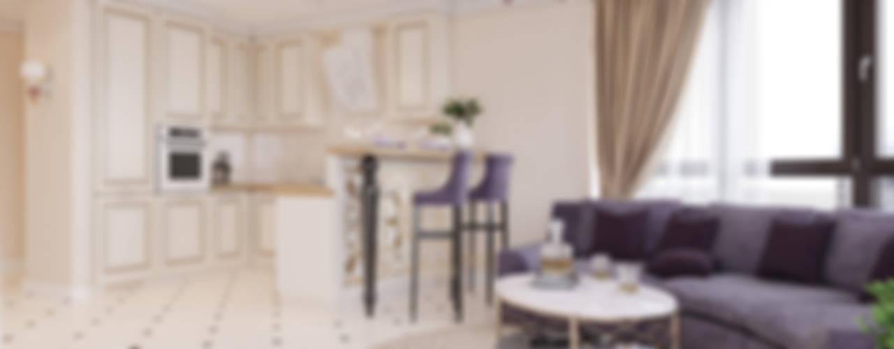 Projekty,  Salon zaprojektowane przez BRO Design Studio, Klasyczny