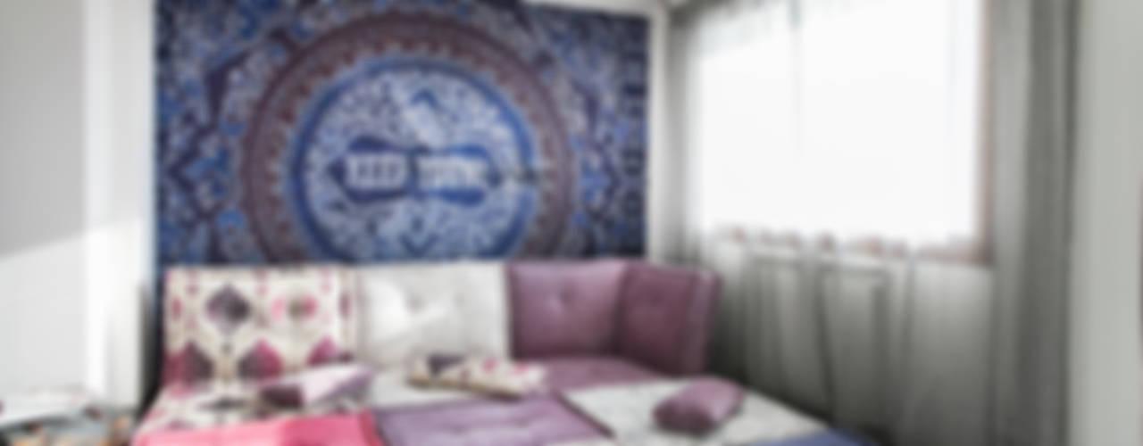 Mediterrane Wohnzimmer von Alessandro Corina Interior Designer Mediterran