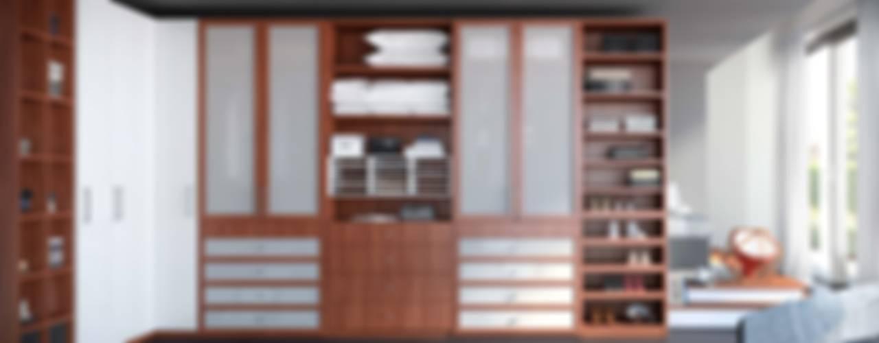 Vestidores y Closets:  de estilo  por Interioriza, Clásico