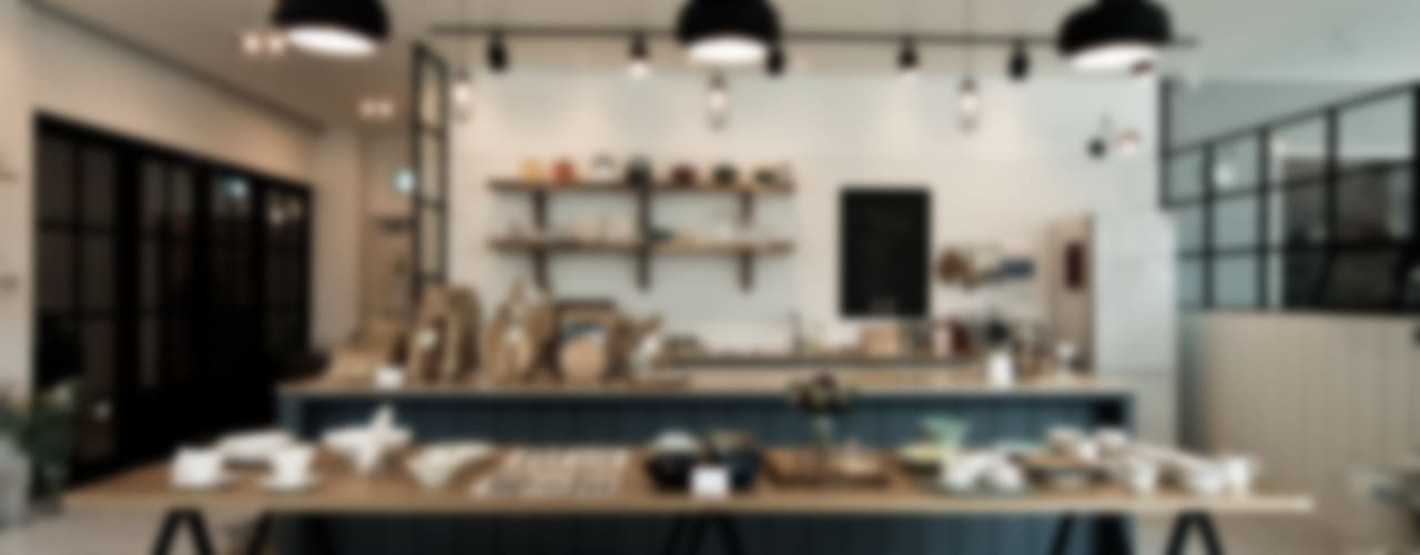 Skandinavische Küchen von 디자인투플라이 Skandinavisch