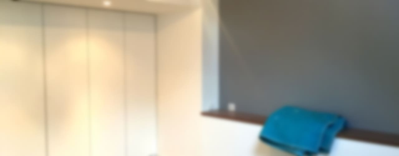 Maison A02 Chambre moderne par 3B Architecture Moderne