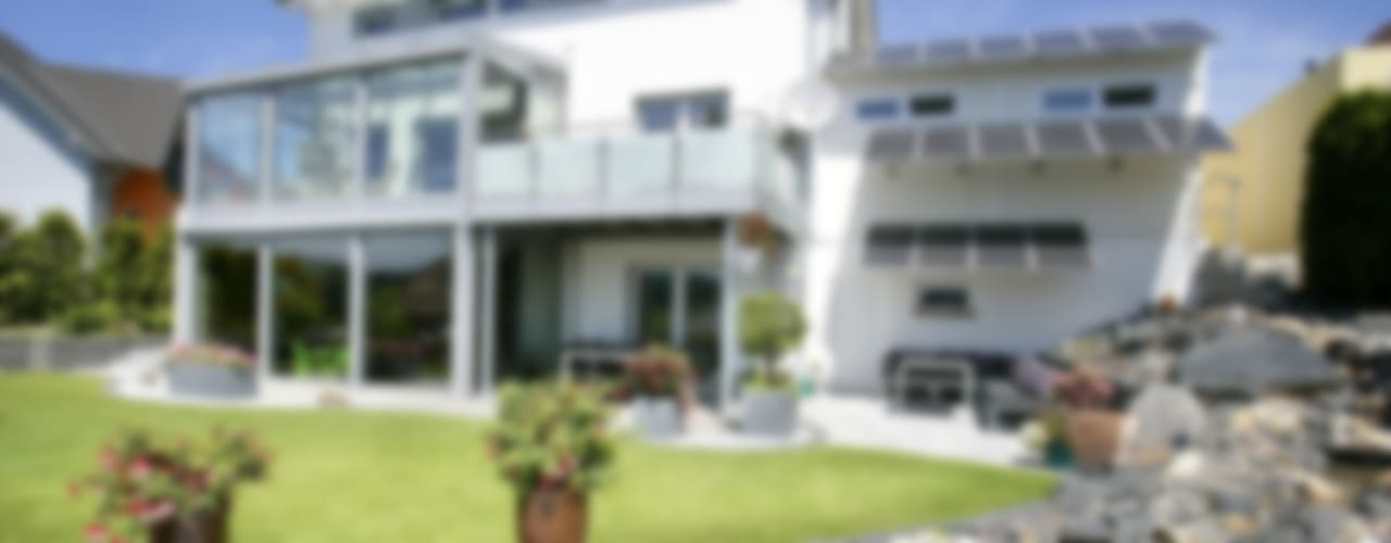 Modern Houses by Fertighaus Servicebüro Schwarz Modern