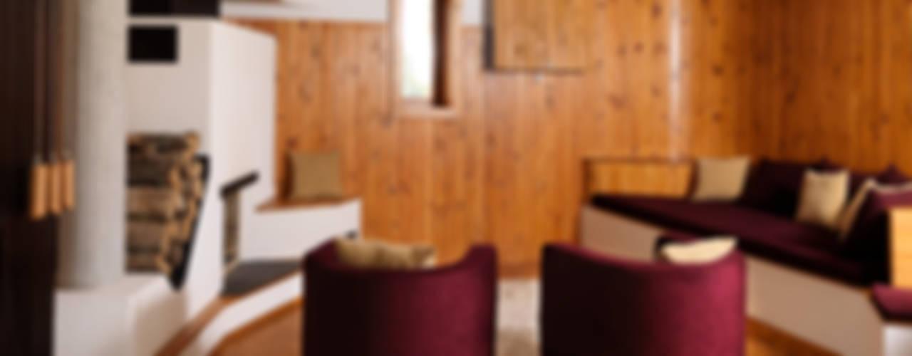 Salones de estilo  de Simon Gill Architects