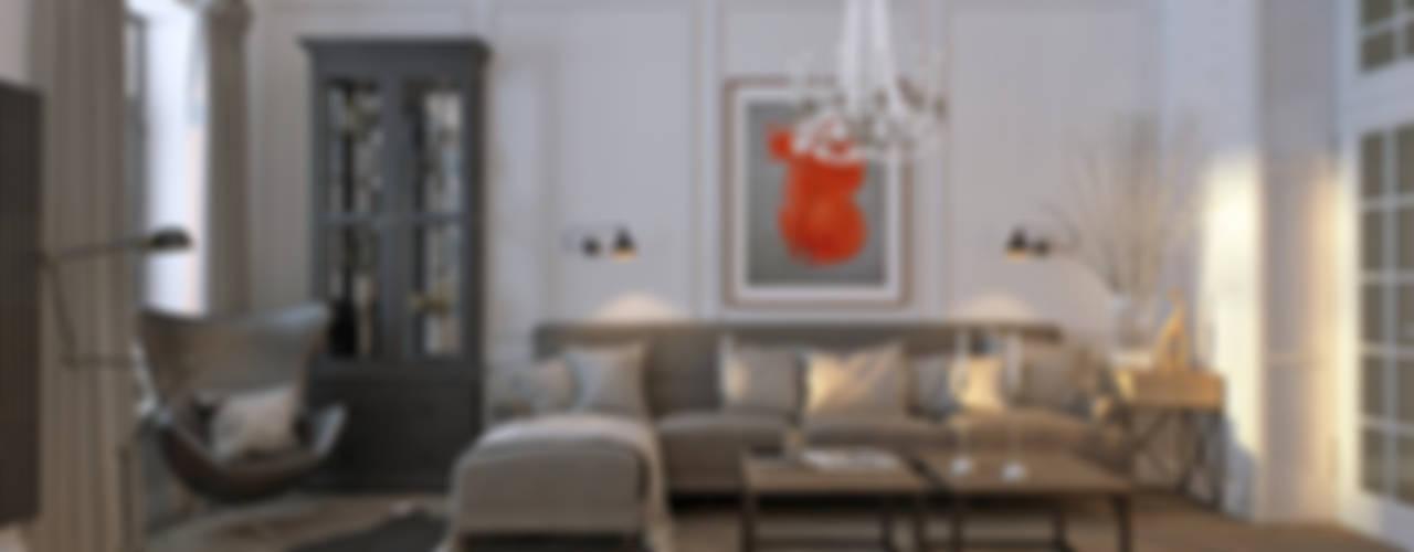 Ruang Keluarga Gaya Skandinavia Oleh Котова Ольга Skandinavia