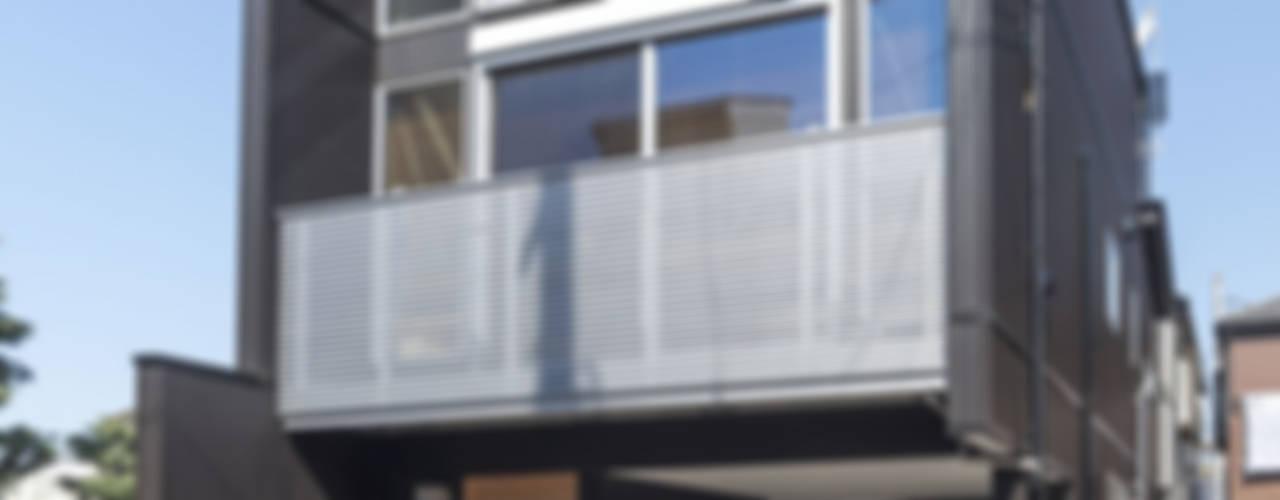모던스타일 주택 by 岡本建築設計室 모던