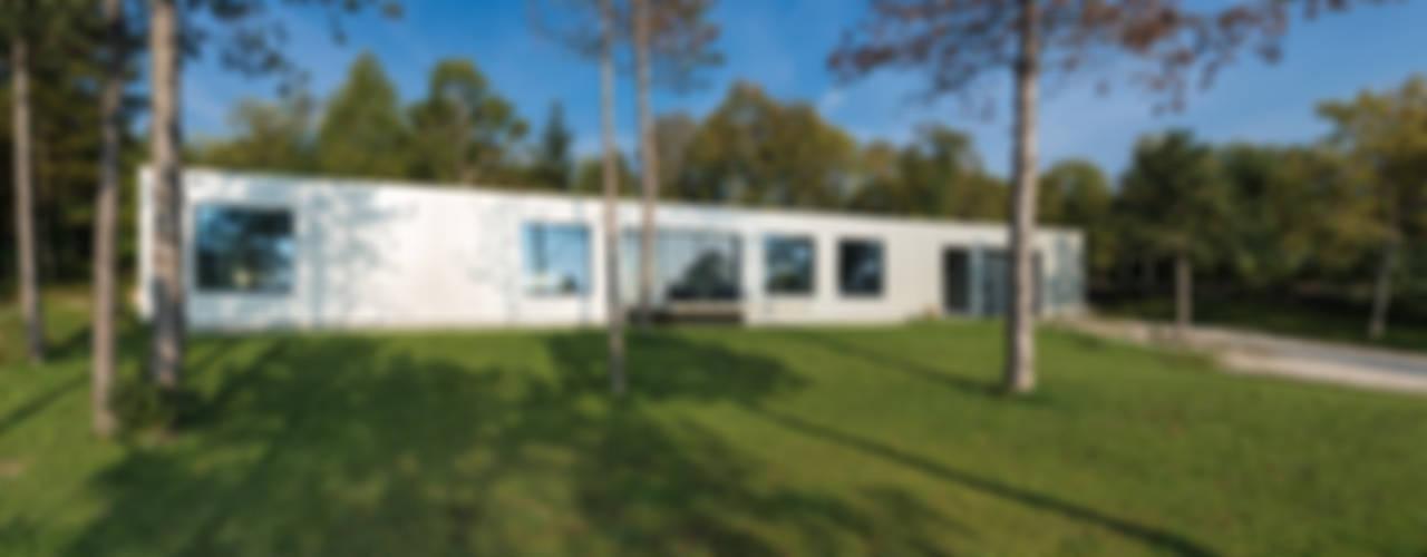 OFFENES HAUS Moderne Häuser von PLANET architects Modern