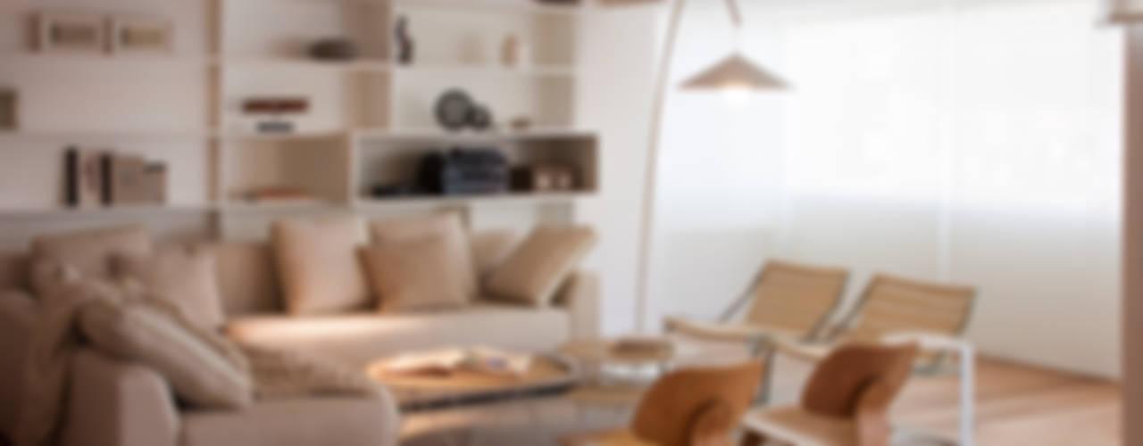 Гостиная в . Автор – Paula Herrero | Arquitectura, Модерн