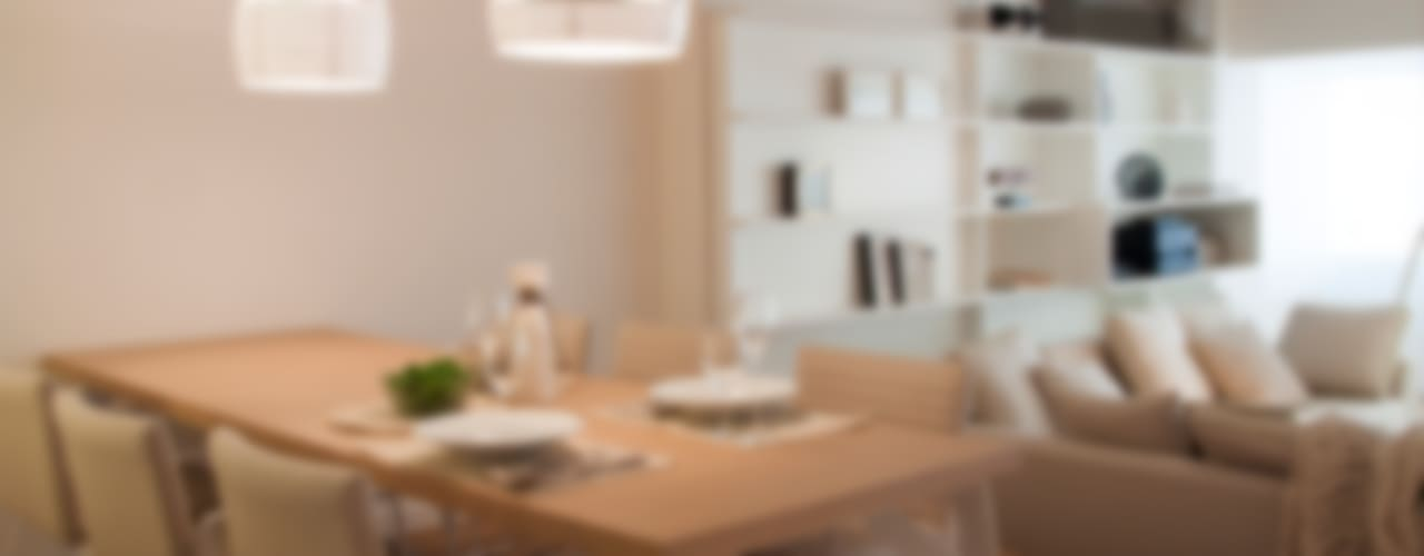 غرفة السفرة تنفيذ Paula Herrero | Arquitectura , حداثي