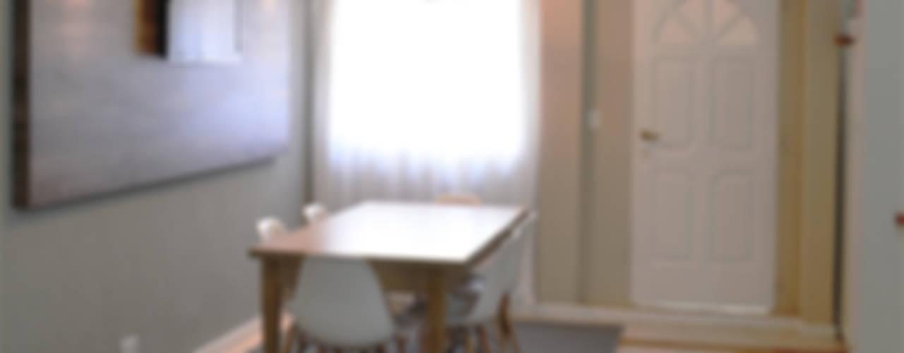 Столовая комната в рустикальном стиле от Estudio Nicolas Pierry Рустикальный