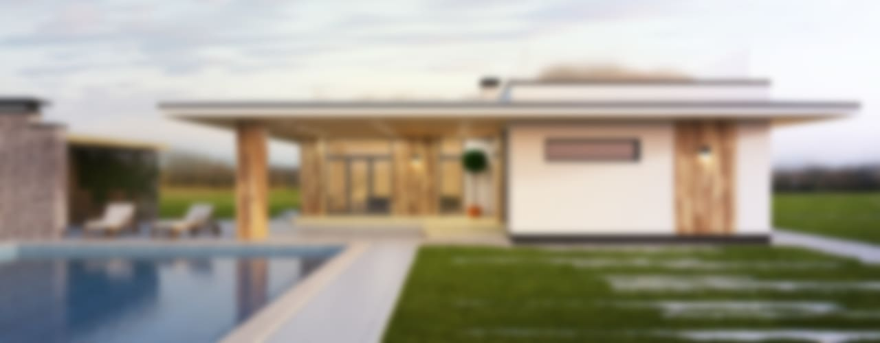 Casas de estilo  de IK-architects, Minimalista