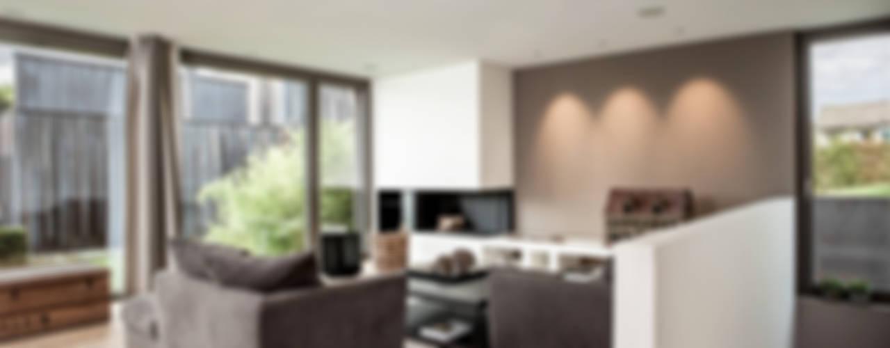 Modern Living Room by meier architekten zürich Modern