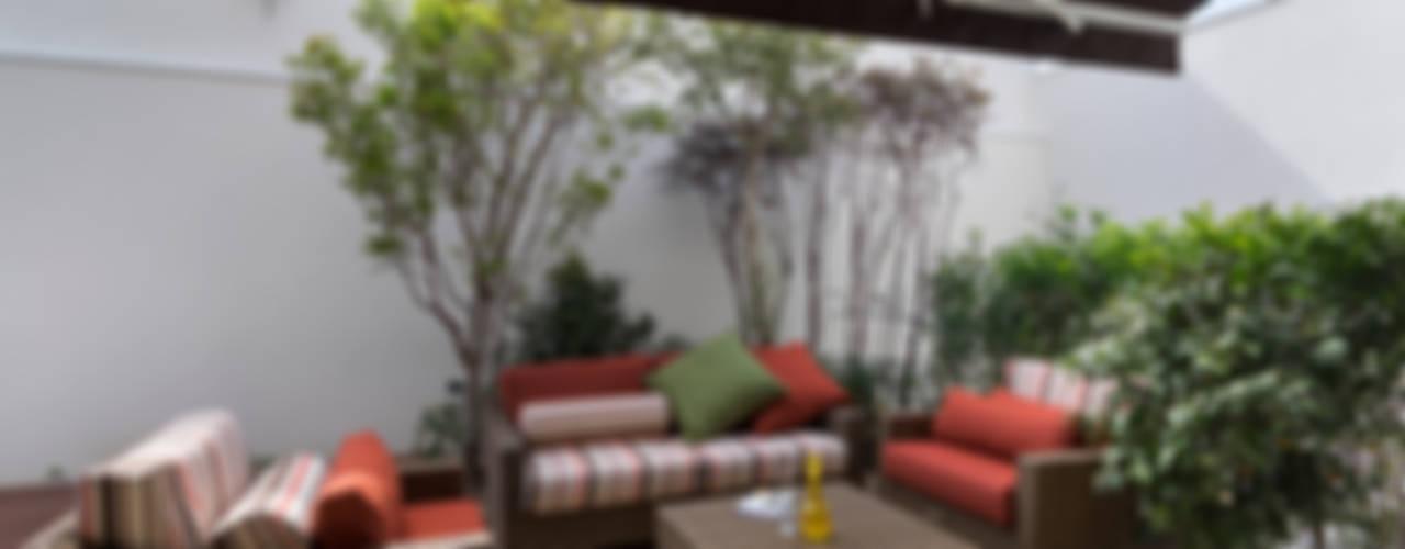 Casa Brooklin Varandas, alpendres e terraços modernos por Cactus Arquitetura e Urbanismo Moderno