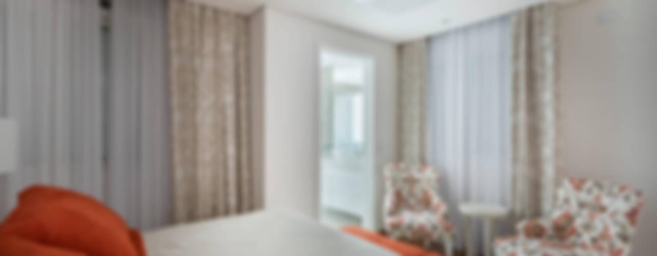 Chambre de style  par Cactus Arquitetura e Urbanismo, Moderne