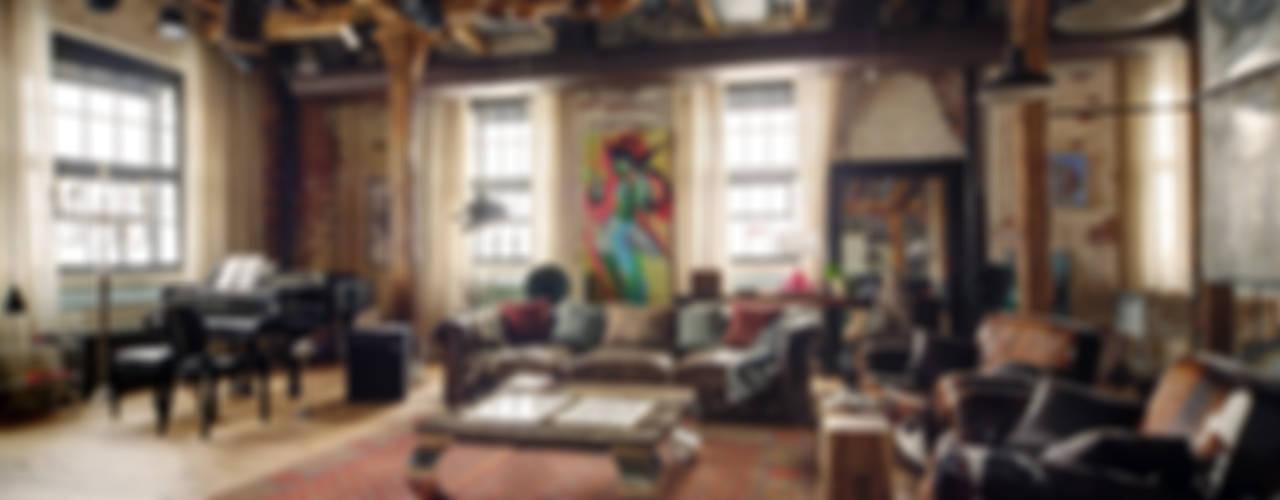 Midlife Crisis Loft Гостиная в стиле лофт от Lev Lugovskoy Лофт