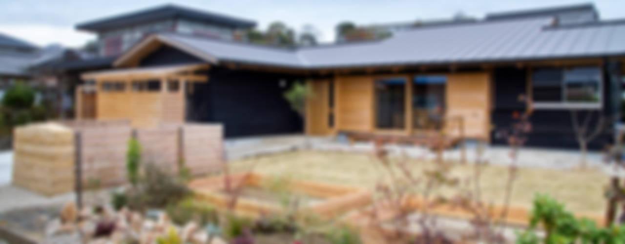 南鹿島のいえ 日本家屋・アジアの家 の shu建築設計事務所 和風