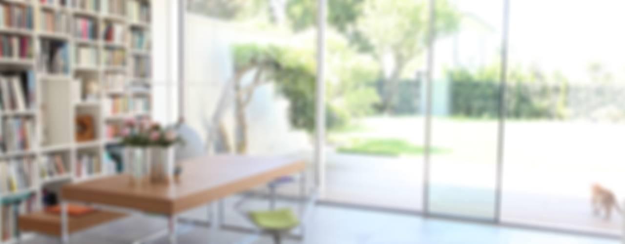 모던스타일 서재 / 사무실 by Neugebauer Architekten BDA 모던