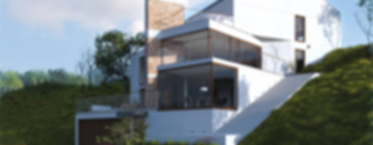 Dom jednorodzinny / Epalinges, Szwajcaria Nowoczesne domy od Absens architekci Nowoczesny