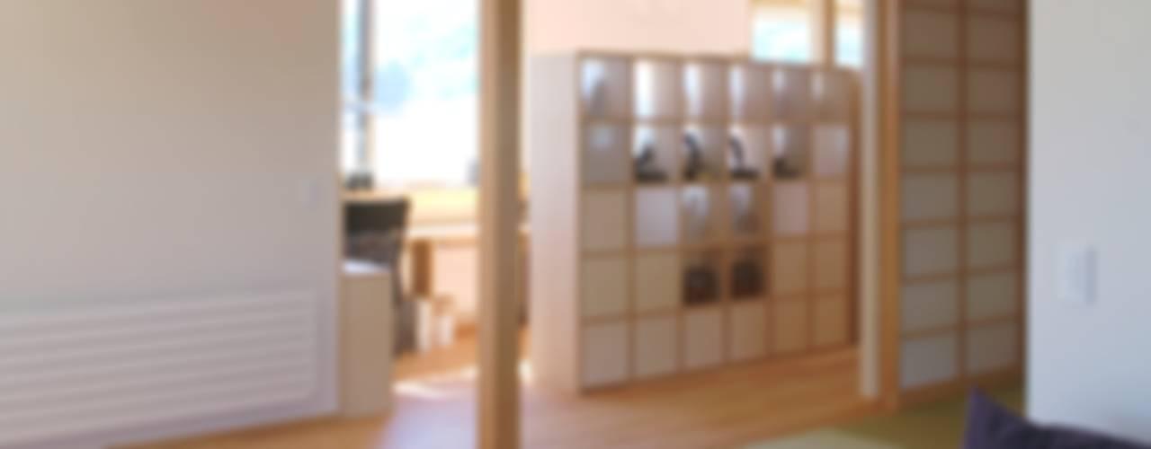 安曇野の平屋の家 オリジナルデザインの リビング の 尾日向辰文建築設計事務所 オリジナル