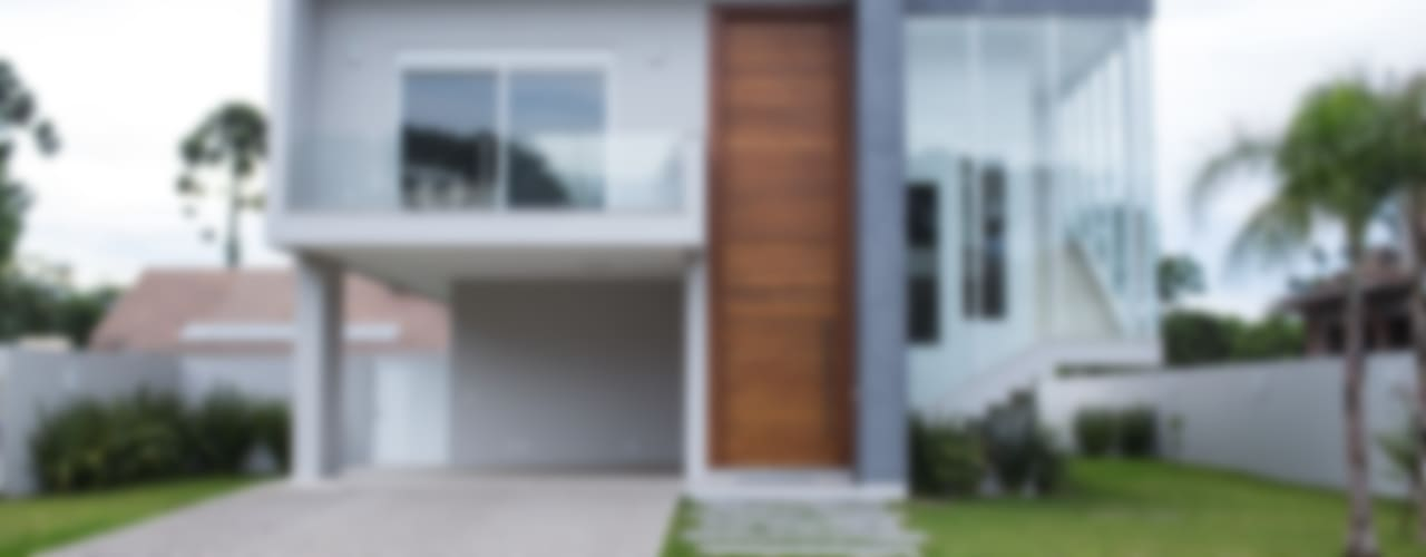 Modern houses by d´ Ornellas Arquitetura e Construção Modern