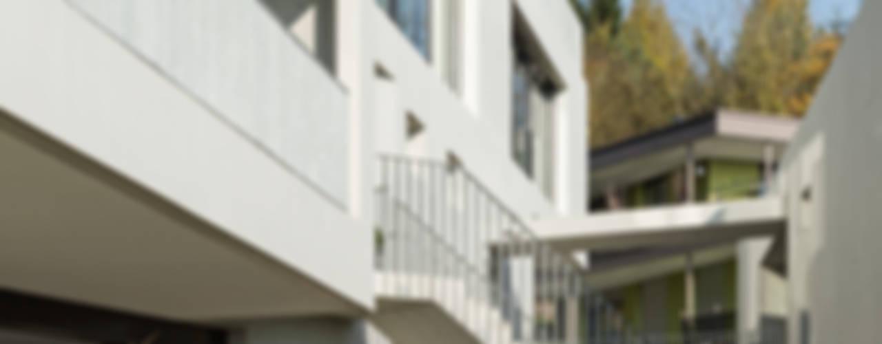 """Wohnüberbauung """"Vinea"""", Rottenschwil (AG) Moderne Häuser von a4D Architekten AG Modern"""