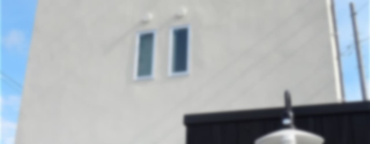 TOFUHOUSE ーコンパクトなシンプルハウスに住むという選択ー モダンな 家 の atelier shige architects /アトリエシゲ一級建築士事務所 モダン