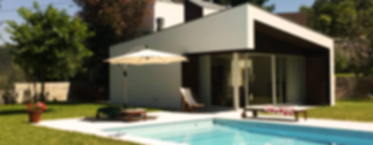 Casas de estilo  por Bárbara abreu Arquitetos, Moderno