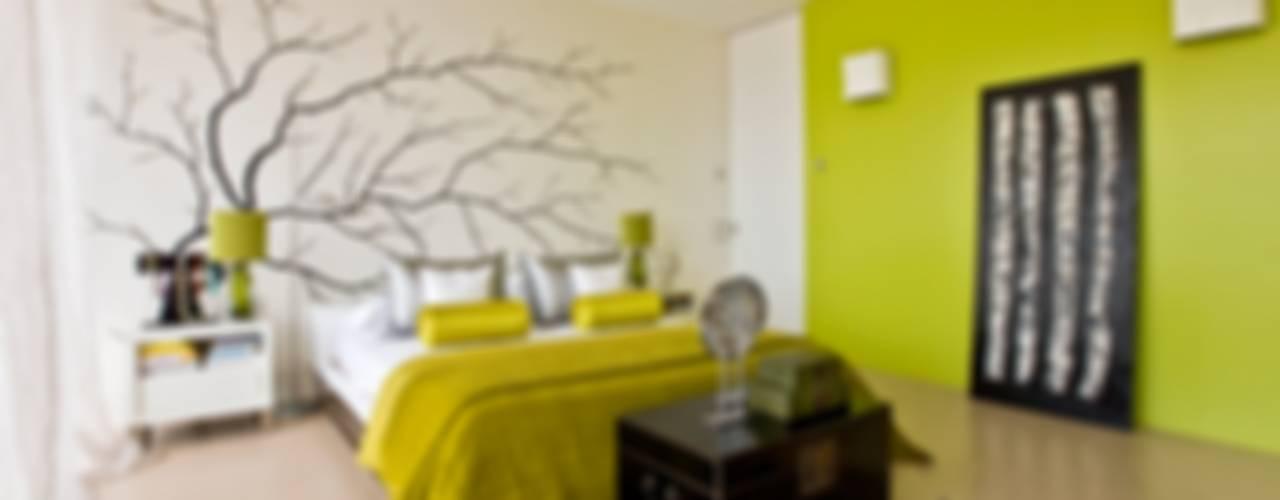 Oriental Chic Viterbo Interior design Recámaras eclécticas