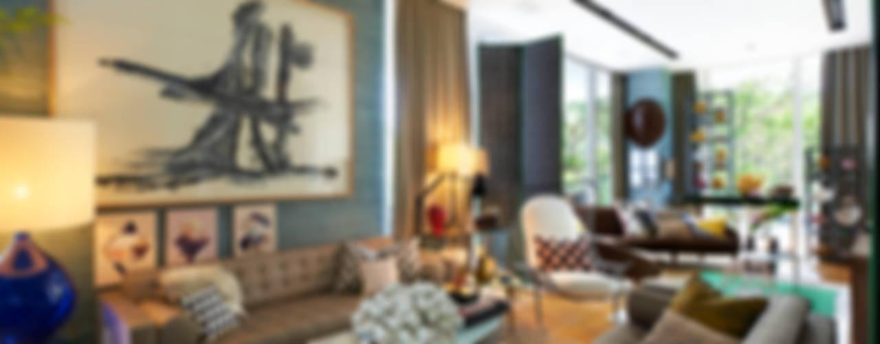 Salones de estilo ecléctico de Viterbo Interior design Ecléctico