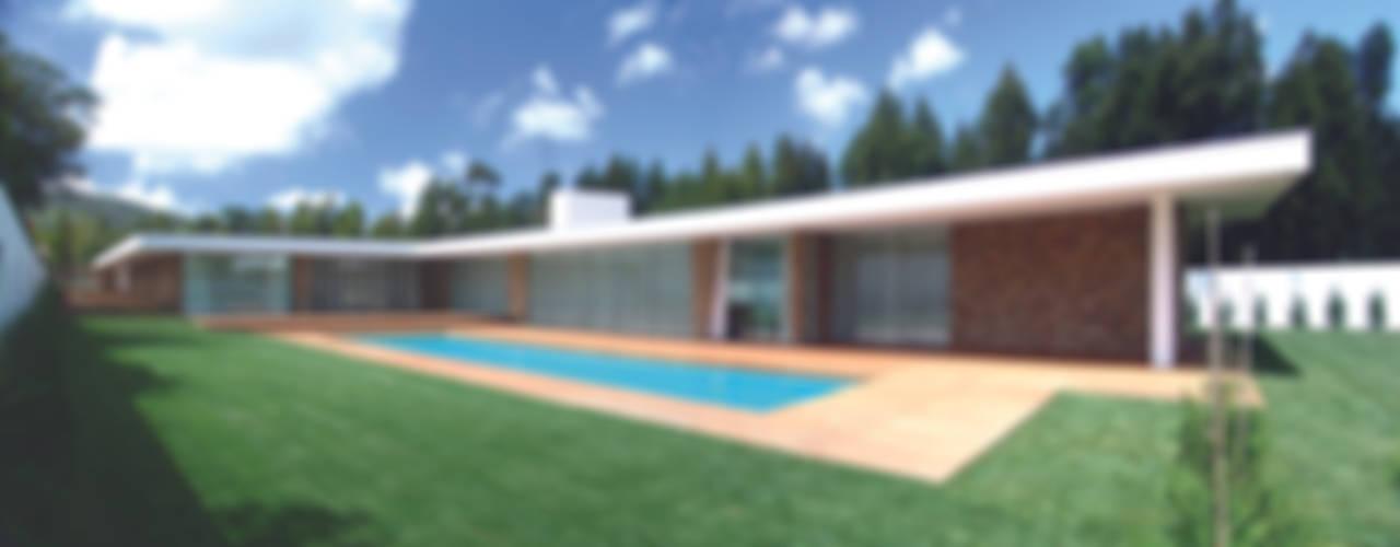 Casa na Quinta da Beloura: Casas  por A.As, Arquitectos Associados, Lda,Moderno
