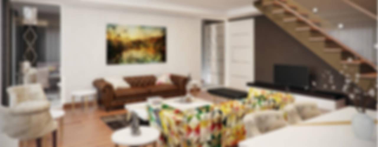 Salas de estar modernas por Decora Moderno
