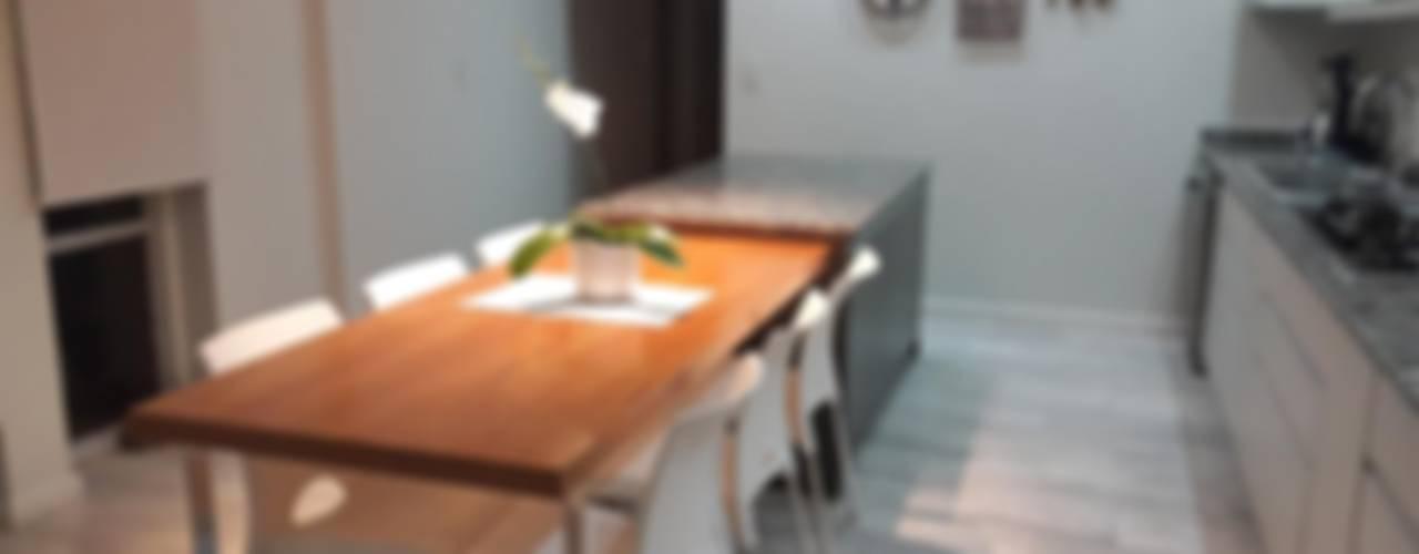 Reforma de Comedor: Cocinas de estilo  por CASA LEIRO
