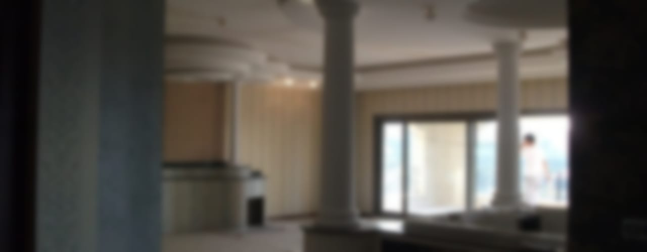 İbrahim S. Malikanesi Modern Koridor, Hol & Merdivenler AÇIT MİMARLIK DEKORASYON İNŞ. SAN. TİC. LTD. Modern