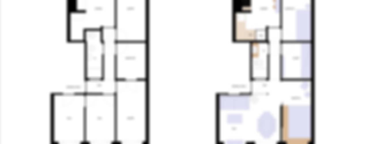 Houses by blaanc, Minimalist