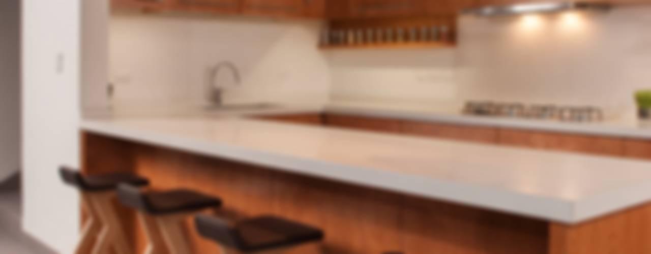 Cocinas de estilo moderno de LGZ Taller de arquitectura Moderno