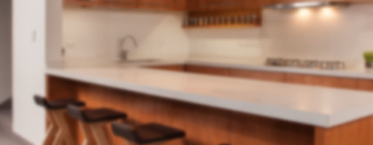 Modern Kitchen by LGZ Taller de arquitectura Modern