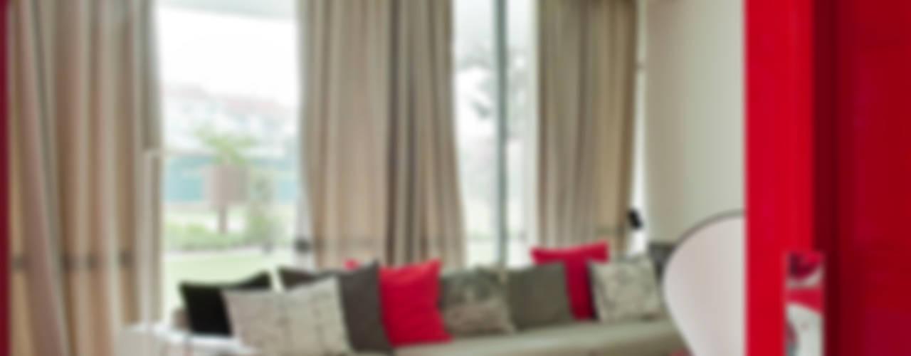 MODERN&DARING Salas multimédia modernas por SA&V - SAARANHA&VASCONCELOS Moderno