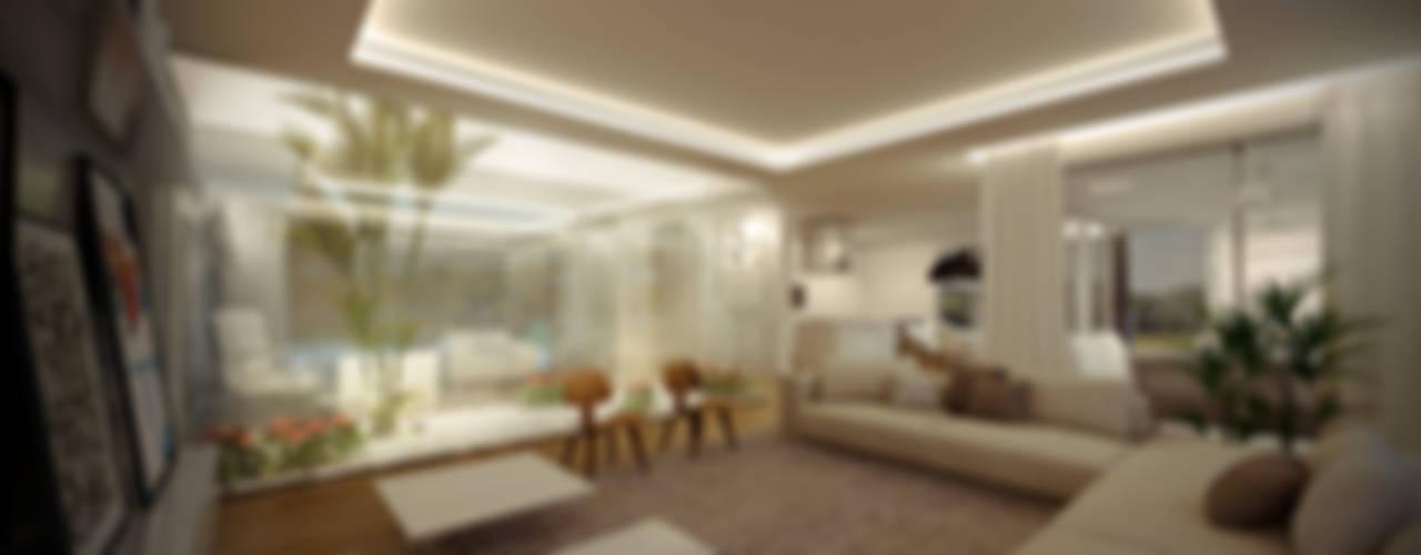 Salones modernos de VISMARACORSI ARQUITECTOS Moderno