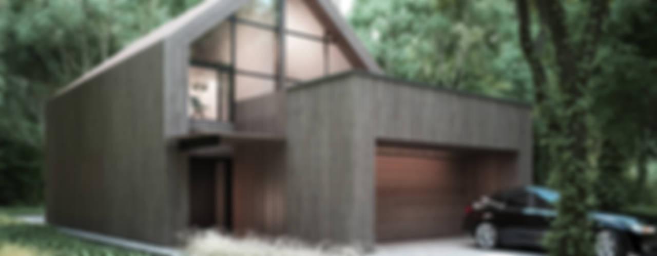 Rumah Modern Oleh Majchrzak Pracownia Projektowa Modern