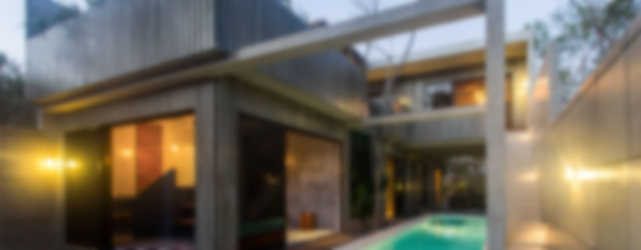 Casa T Albercas modernas de Studio Arquitectos Moderno