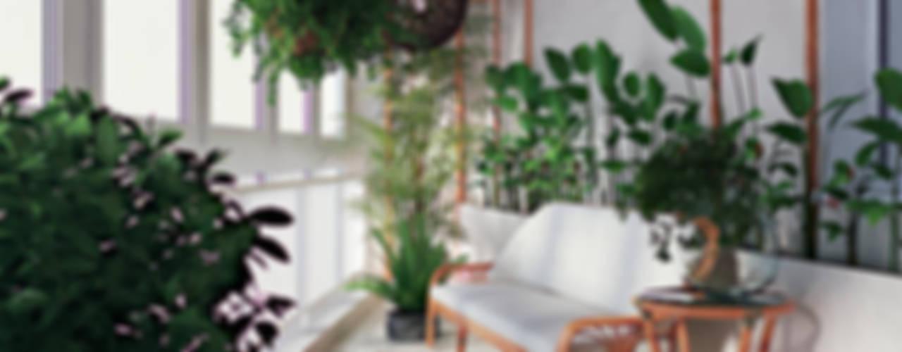 Интерьер с характером Зимний сад в стиле модерн от студия дизайна 'Крендель' Модерн