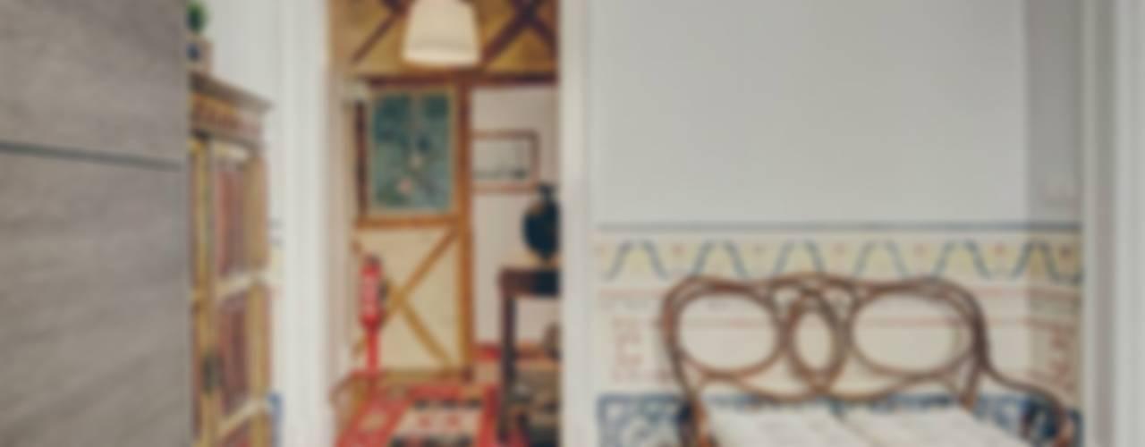Salas de estilo rústico de Obrasdecor Rústico