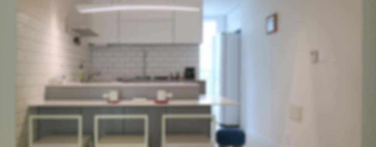 거실의 서재화 , 은혜로운 집 _ 25py 홍예디자인 모던스타일 주방