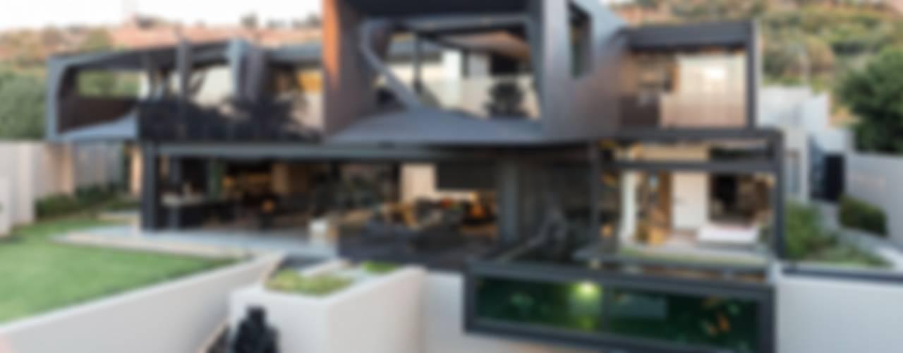 House in Kloof Road Casas modernas de Nico Van Der Meulen Architects Moderno